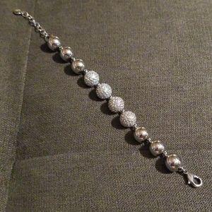Chloe + Isabel Pave Ball Bracelet NWOT